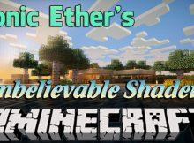 Los sombreadores increíbles de Sonic Ether