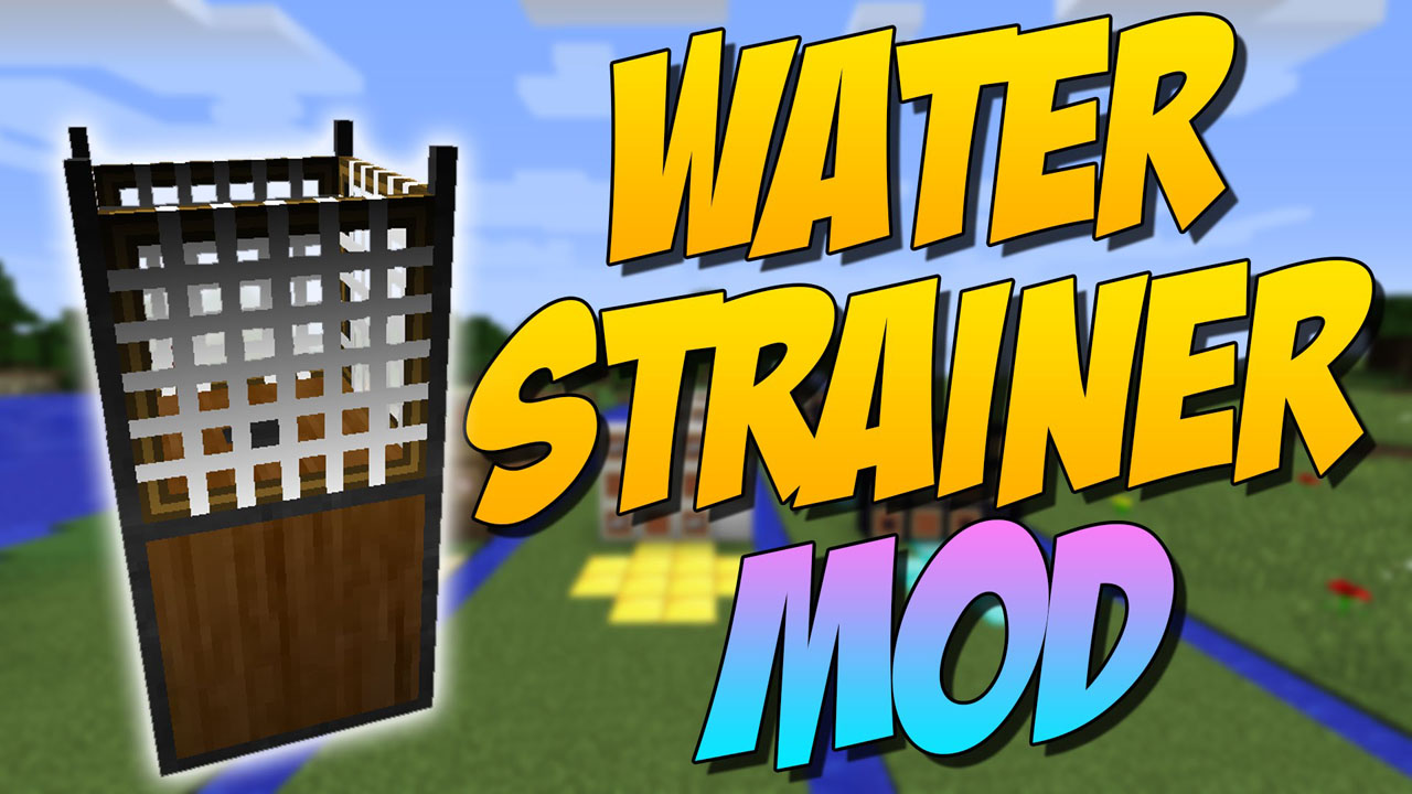 Colador de agua Mod Logotipo