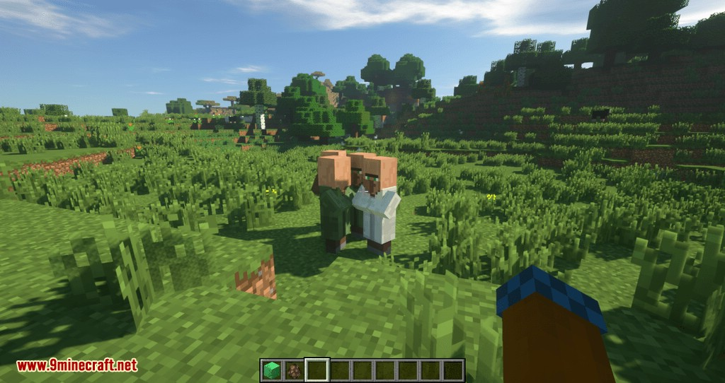 Siguiendo el mod de Villagers para minecraft 03