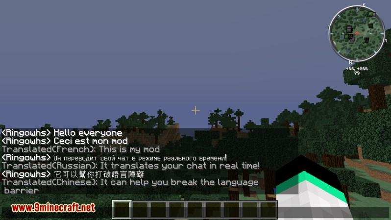 Chat en tiempo real Traducción Mod 1