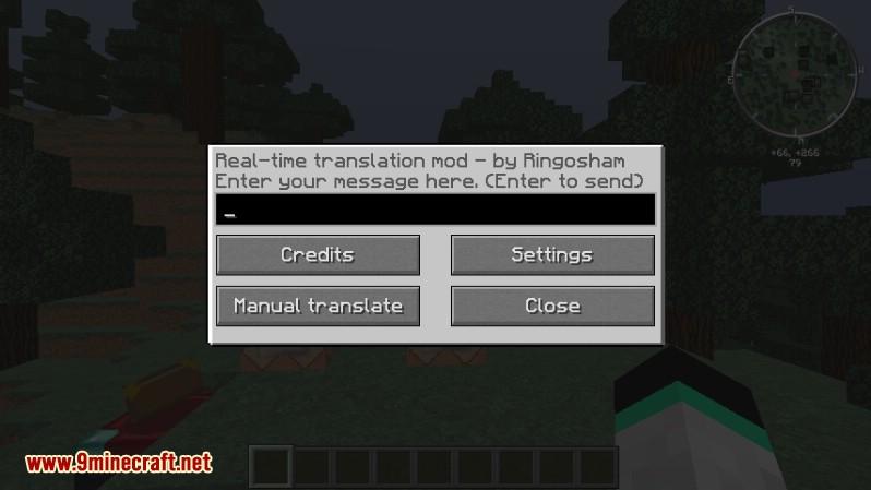 Traducción de chat en tiempo real Mod 2