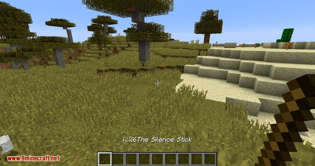 Silence Mobs mod para minecraft 04