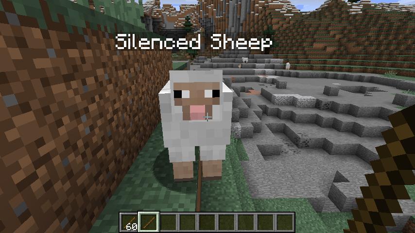 Silence Mobs mod para minecraft 11