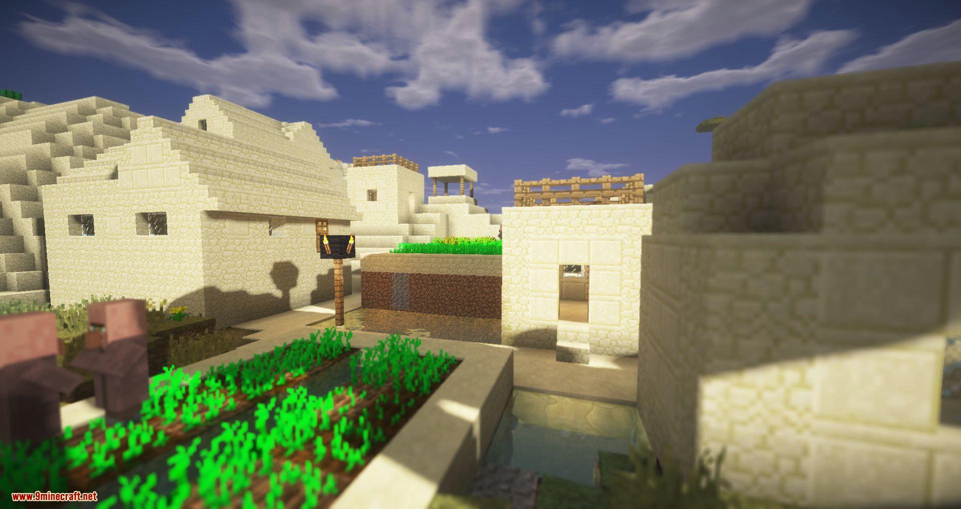 Mod Shaders de Triliton para minecraft 02