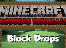 Block Drops Mod