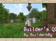 Builder_s Quality of Life Shaders para el logotipo de Minecraft