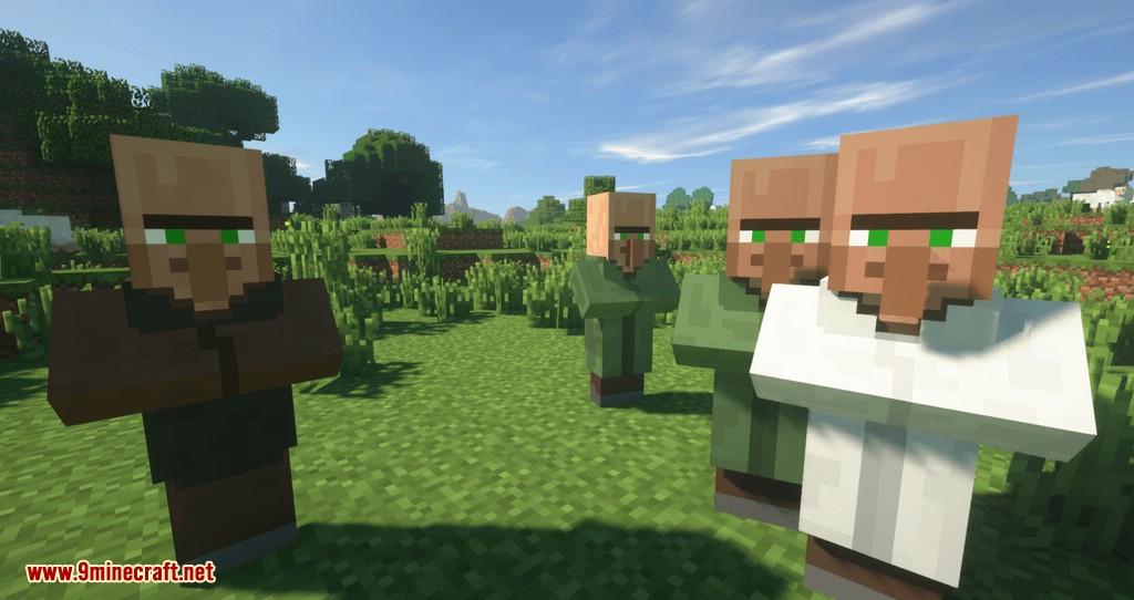 Siguiente mod de Villagers para minecraft 01