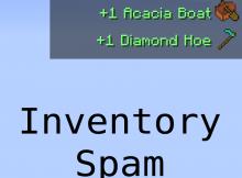 Inventario Spam Mod