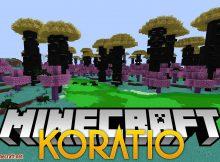 Mod Koratio para el logotipo de Minecraft