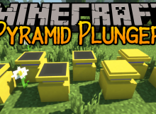 Pyramid Plunder mod para el logotipo de minecraft
