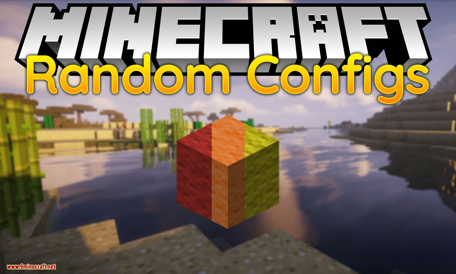 Mod de configuración aleatoria para el logotipo de Minecraft