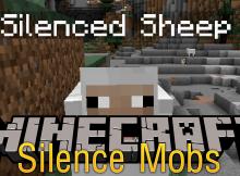 Silence Mobs mod para el logotipo de minecraft