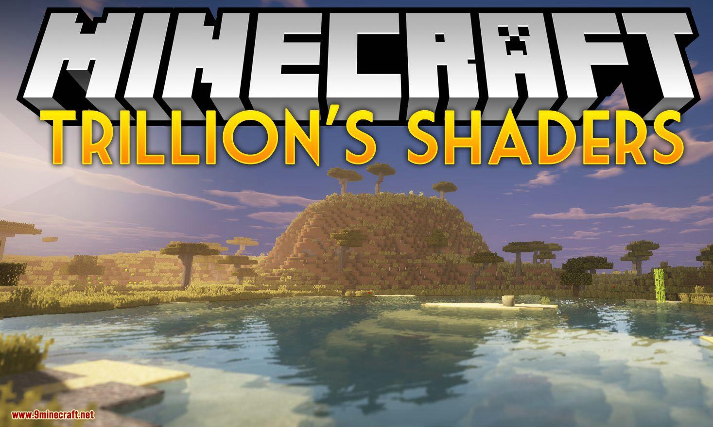 Triliton's Shaders Mod para el logotipo de minecraft