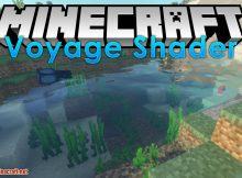 Voyager Shader para el logotipo de Minecraft