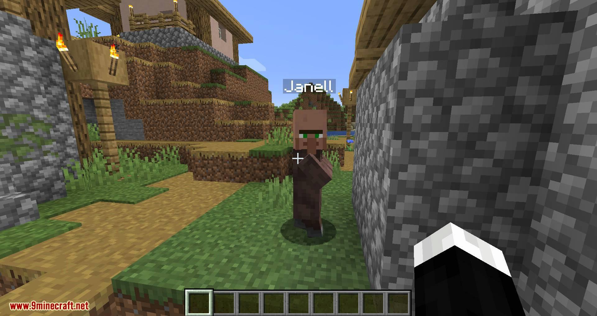 Mod de nombres de aldeanos para minecraft 04