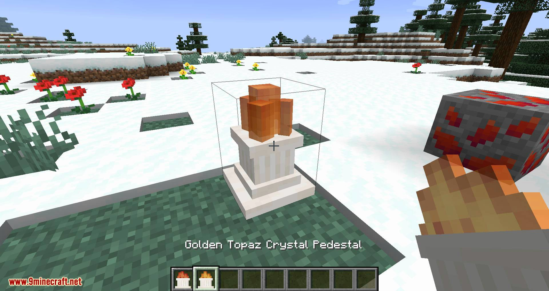Mod de Novedades Cristalinas para Minecraft 05