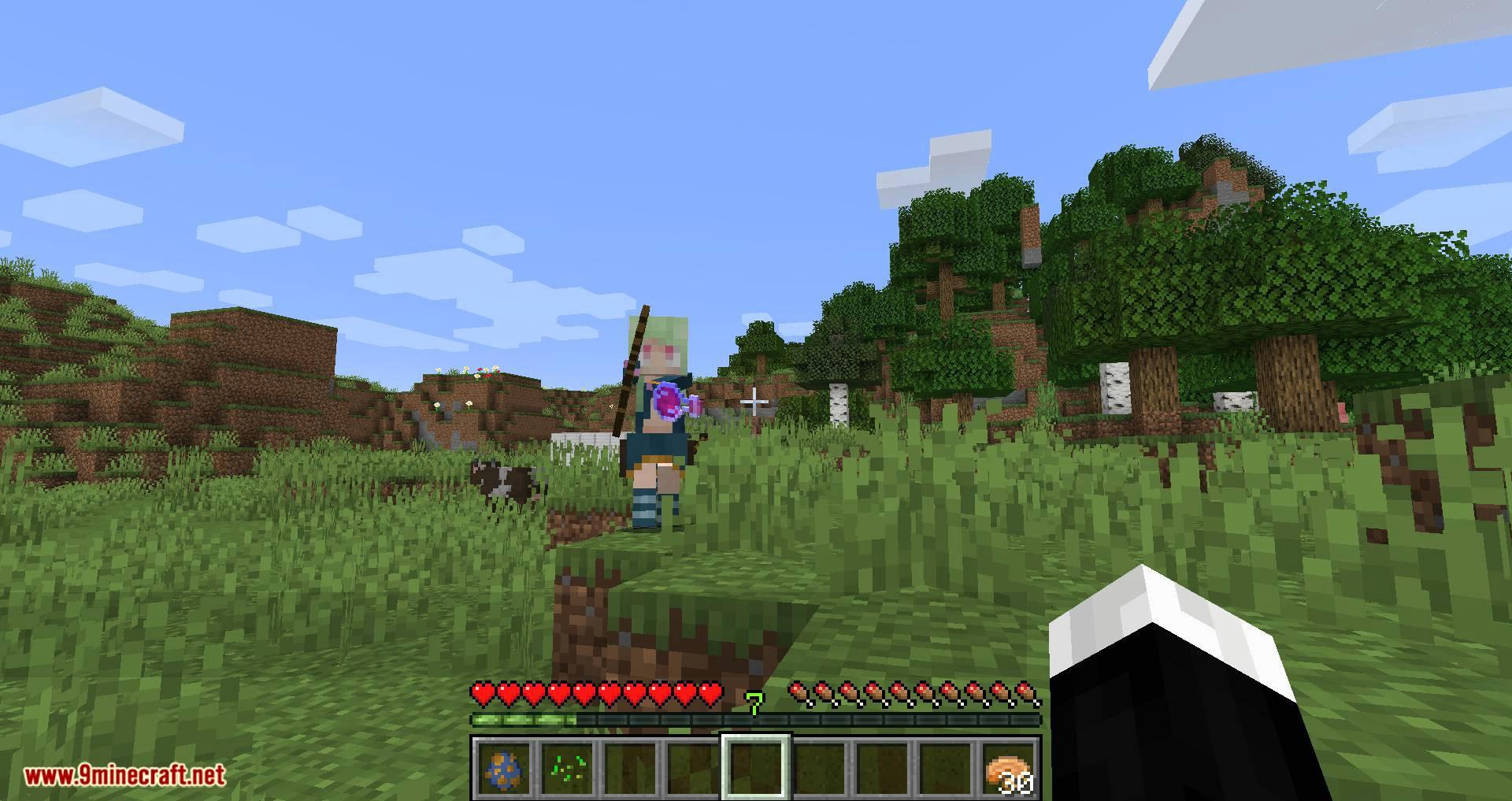 Wander Maid mod para minecraft 06