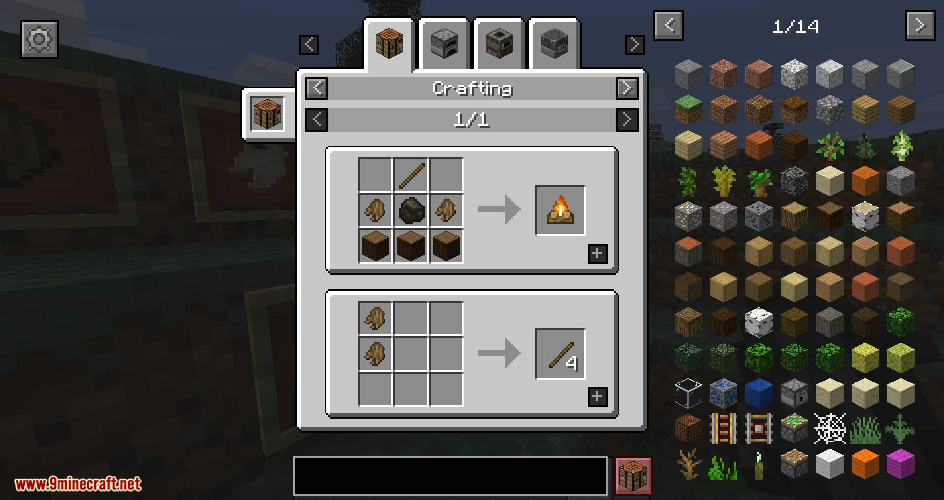 Mod de corteza de árbol para minecraft 08