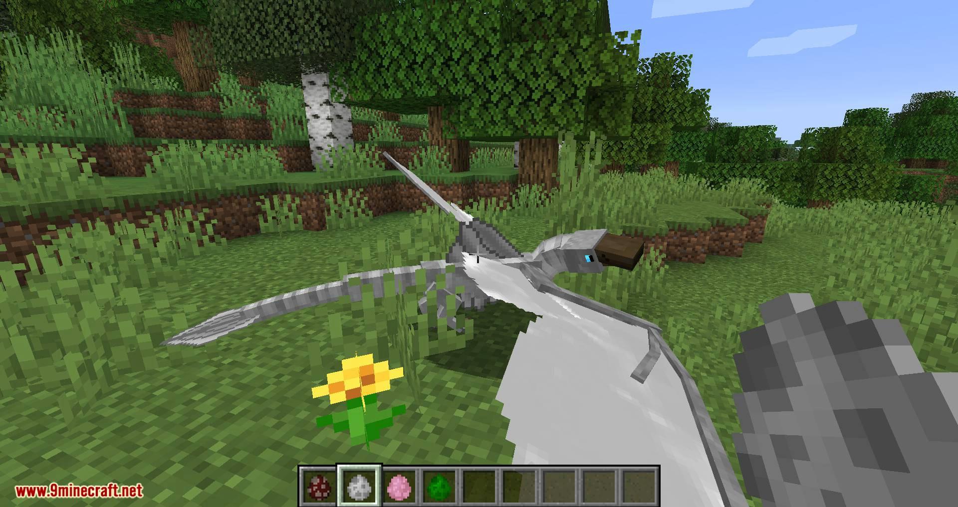 Mod Wyrmroost para Minecraft 03