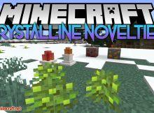 Mod de Novedades Cristalinas para el logotipo de Minecraft