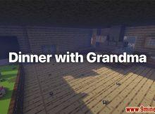 Cena con la abuela Mapa Miniatura