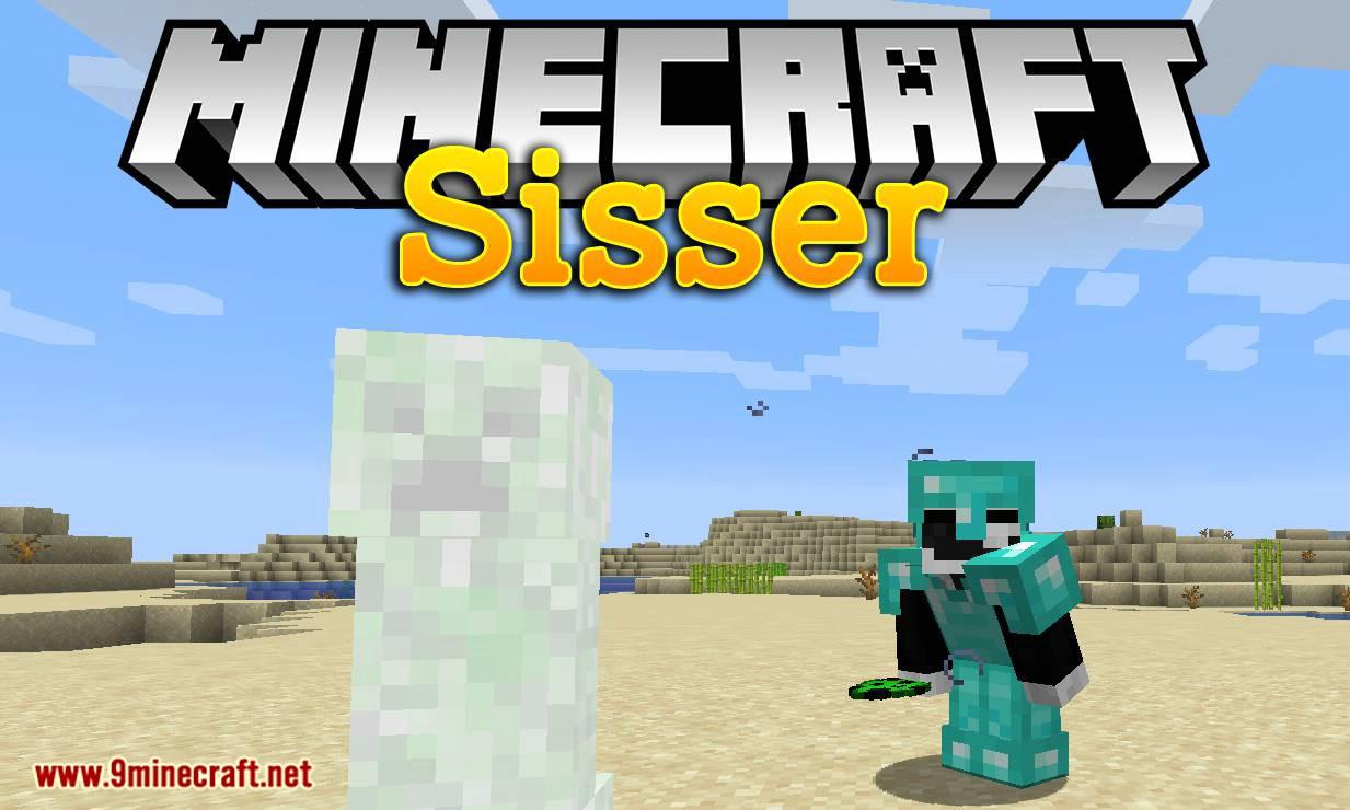Mod Sisser para el logotipo de Minecraft