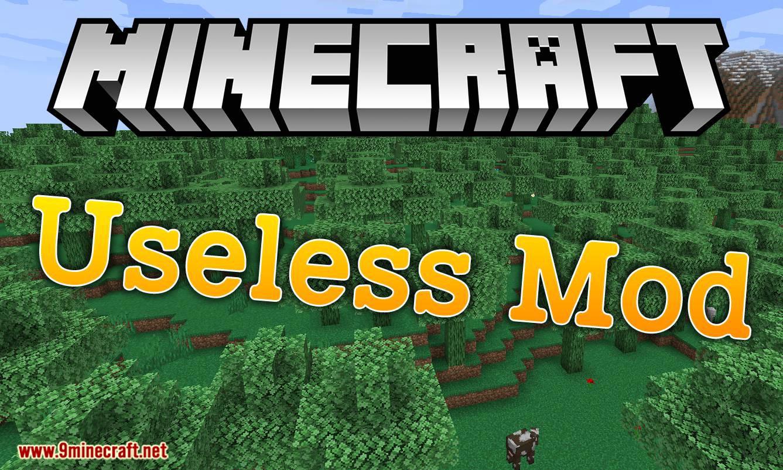 Mod inútil para el logotipo de minecraft